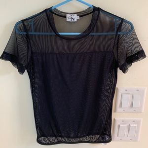 Calvin Klein shear shirt